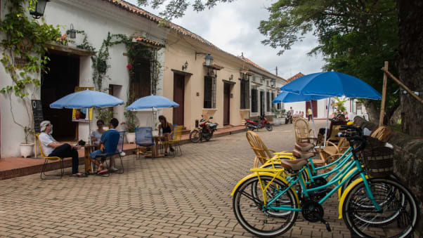 Santa Cruz de Mompox is on the banks of the river Magdalena.