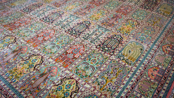How The Indiana Jones Of Carpets Became The Rug Man Of Doha Cnn Travel