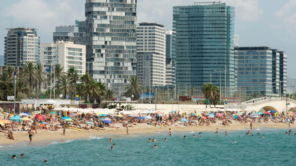 Barcelona beaches your guide to picking the best stretch of sand llevant great for family days out stopboris Choice Image