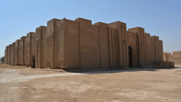 Ninmakh-Temple,-Babylon,-Iraq