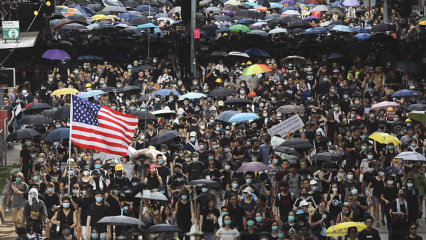 Some nations have issued advisories to their citizens about travel to Hong Kong.