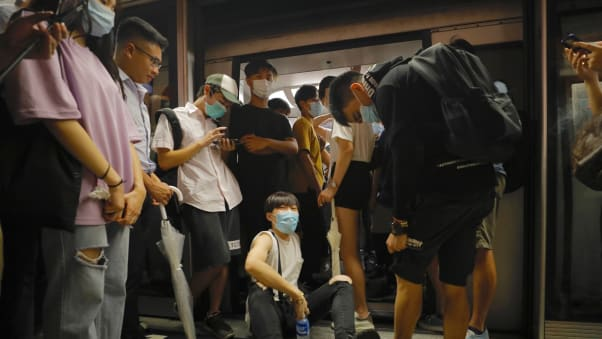 Some subway stations have also been temporarily shut and train lines suspended during protests.