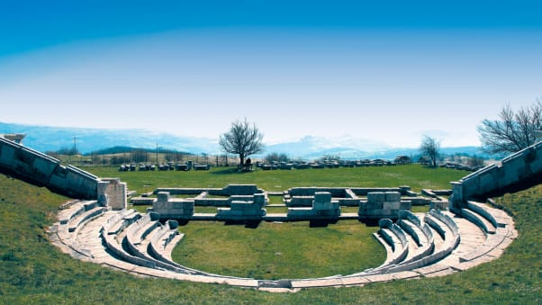 Pietrabbondante ruins c-Regione Molise