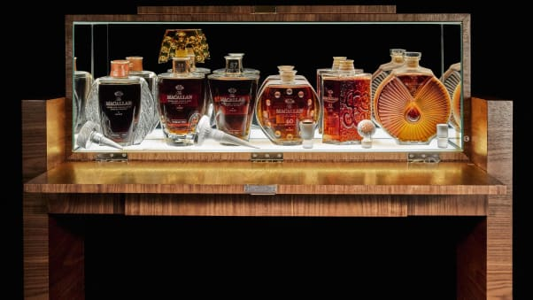 The auction included many other rare vintages, all from the collection of a single person.