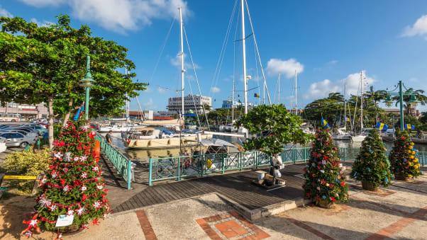 Fai Natale in stile isolano nelle Barbados baciate dal sole.