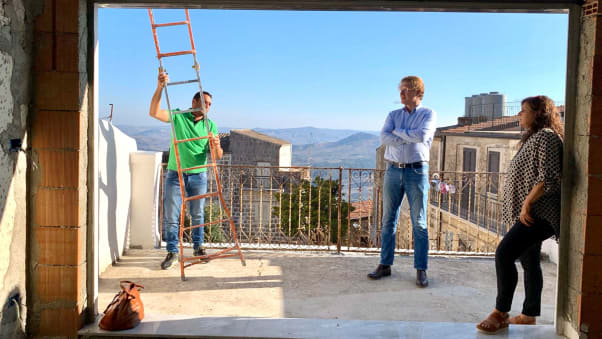 One-euro-home-buyers--Janssen-on-his-panoramic-terrace-in-Mussomeli-c-Patrick-JanssenJPG
