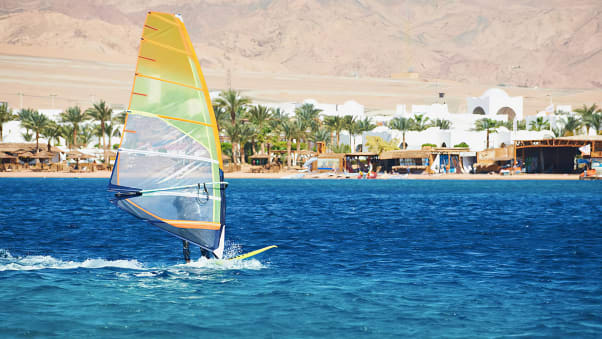 06. Windsurfing - Dahab. Photo courtesy ETA-Emeco Travel