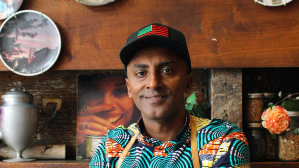 Marcus Samuelsson is an Ethiopian and Swedish chef and restaurateur.