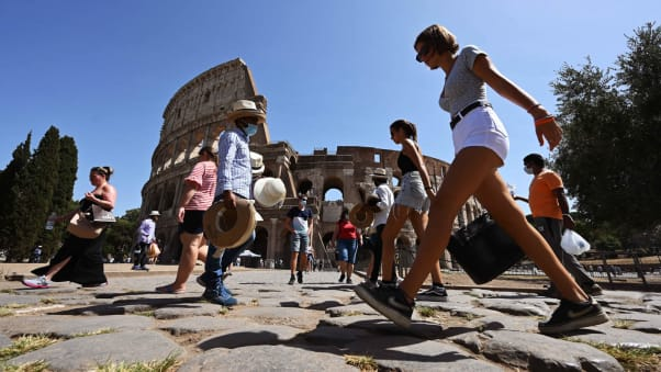 Many foreign tourists have stayed away from Italy this year.
