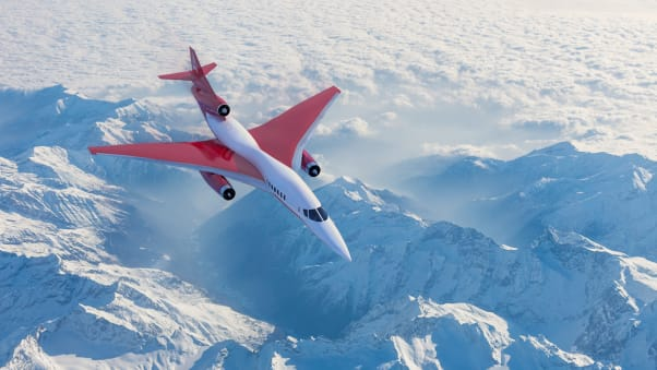 Aerion AS2 press images January 2021