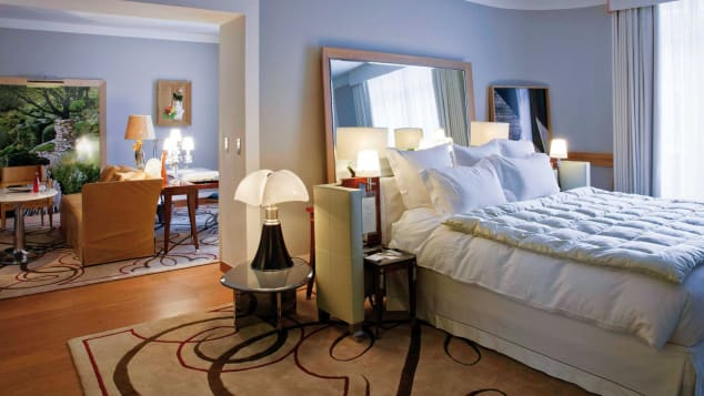 Using a booking agent such as Skylark to book a stay at Paris' Le Royal Monceau often means a solid deal and plenty of amenities.