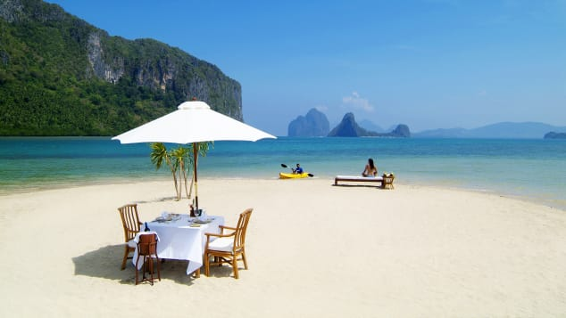 Philippines' El Nido, located in Palawan, is home to some of the world's most beauitful beaches.