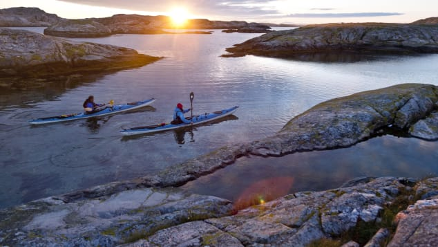 Sweden's right-to-roam law means you can pitch a tent largely where you like among the islands of Bohuslän.