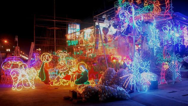 4. Philippines Christmas lantern