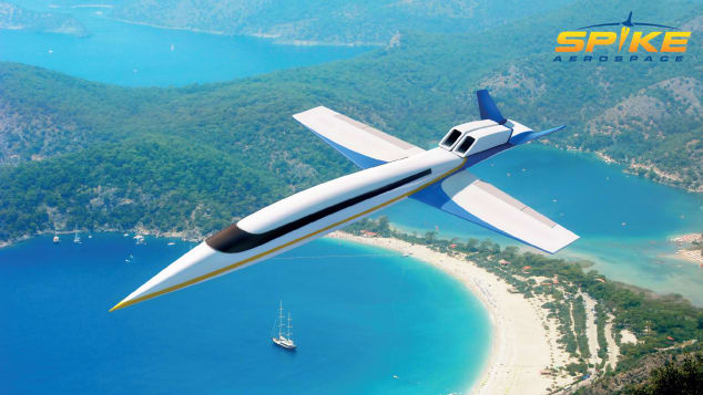 Spike Aerospace supersonic business jet S-512