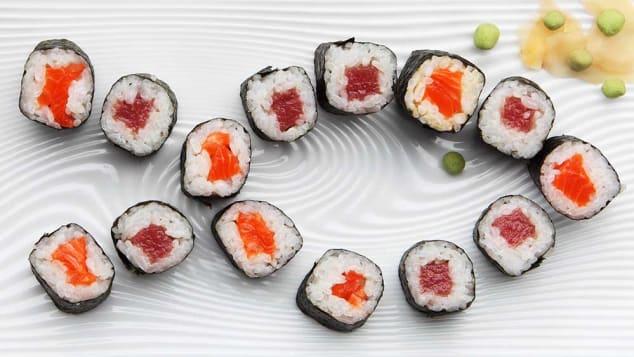 米、サーモン、わさび-世界最高の食品トリオ?