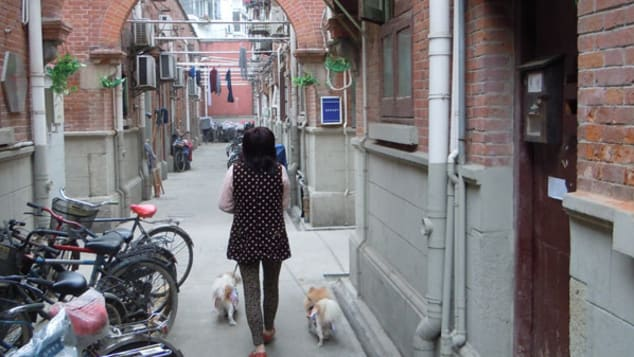 Most authentic Shanghainese life is hidden in alleyways.