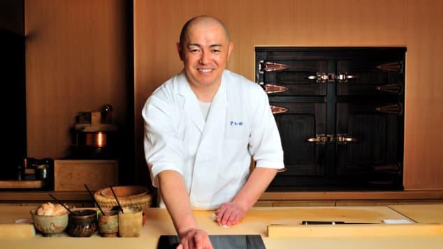 Koji Sawada's eponymous restaurant is a shrine to sushi.