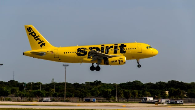 Spirit Airlines took the number seven spot list on The Points Guy's round-up.