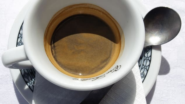 Espresso -- the world's most effective morning heart starter.