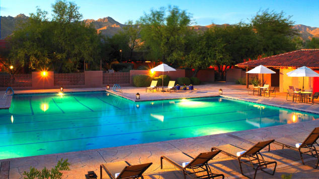 Best hotel spas- Canyon Ranch Spa Tucson