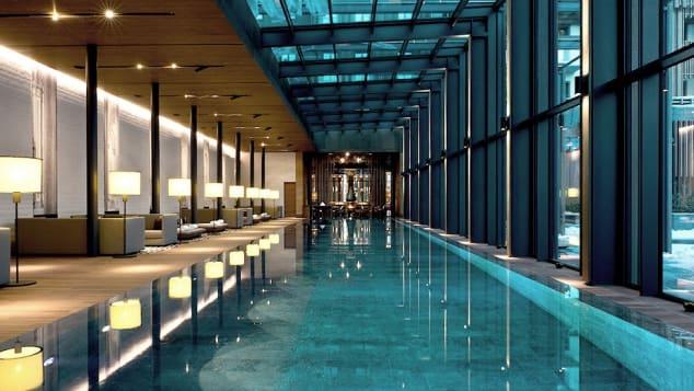 Best hotel spas- Chedi Andermatt Spa