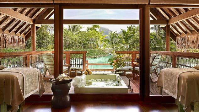 Best hotel spas- Four Seasons Bora Bora