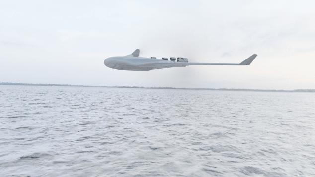 seaplane imperial college future flight rendering