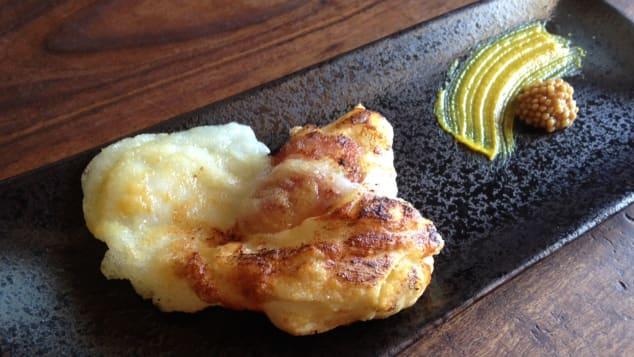 food mashups- mochi bacon
