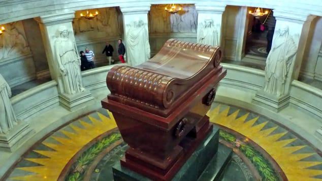 Napoleon I's tomb at Les Invalides