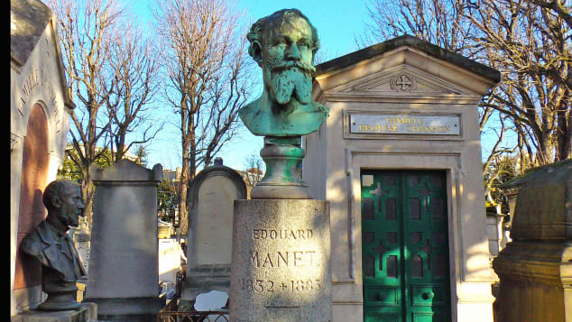 Edouard Manet's grave