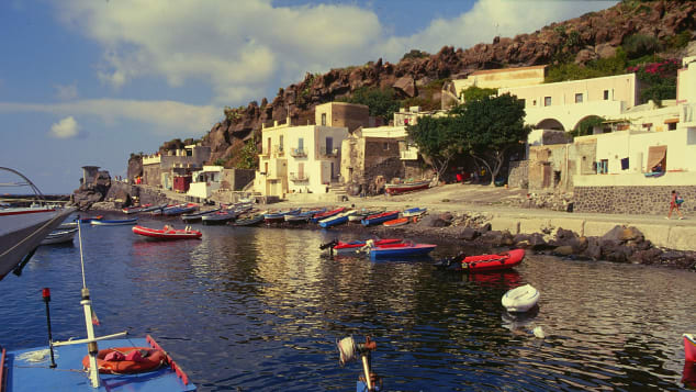 Alicudi island, Italy
