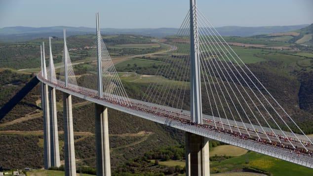 Millau viaduct, France