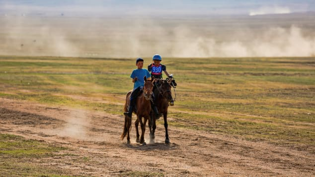Kids from five to 13 years old are used as jockeys, ensuring that races focus on the skill of the horses, not the riders.