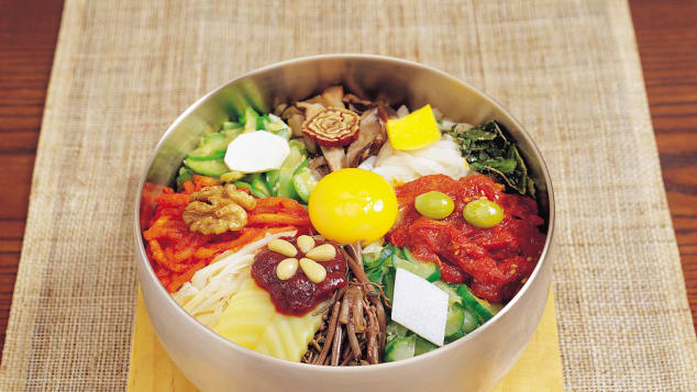 korea food map Bibimbap
