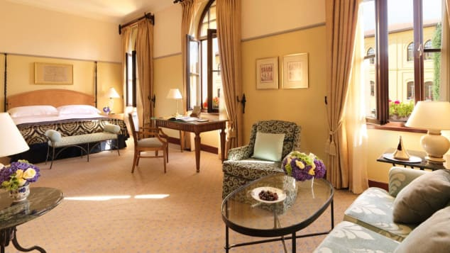 The Four Seasons Sultanahmet is a former prison, now luxurious hotel.