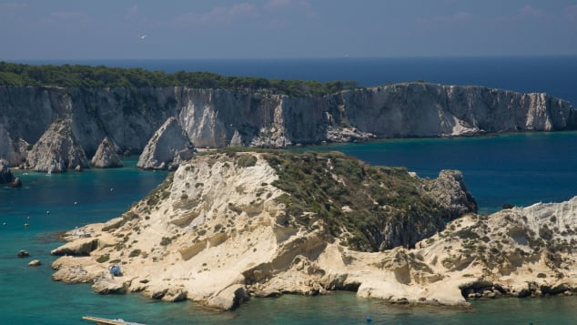 The Tremiti islands are within reach of the village