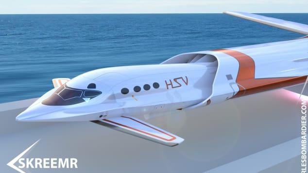 Skreemr hypersonic plane