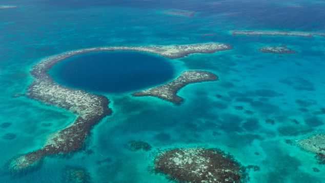 The Blue Hole is largely unexplored.