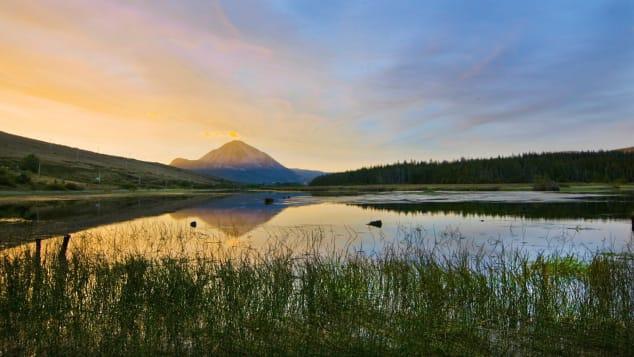 Mount-Errigal-sun-rise