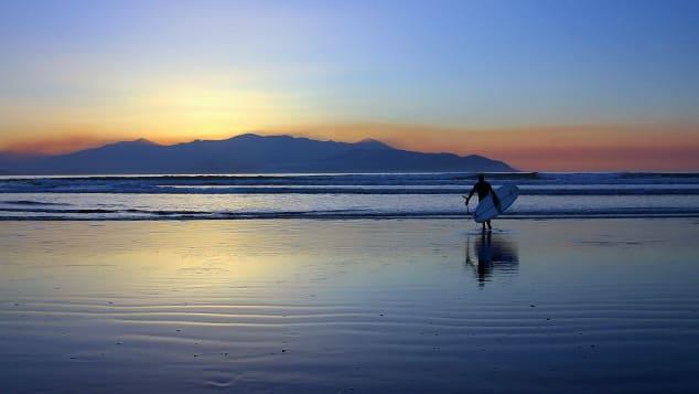 Castlegregory-Kerry-surf-sunset