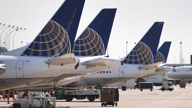 United Airlines is headquartered in Illinois, and has a large presence at O'Hare International Airport in Chicago