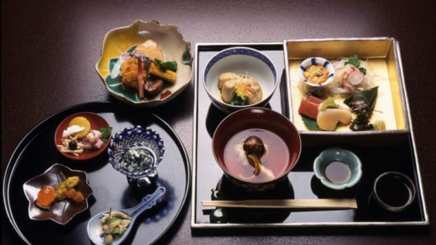 Kaiseki meals were originally intended to be enjoyed before a tea ceremony.