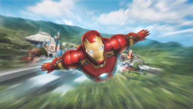 Χονγκ Κονγκ Disneyland_Iron Man Experience_Visual (3)