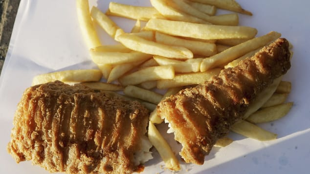 Fish and chips -- not just for Fridays.