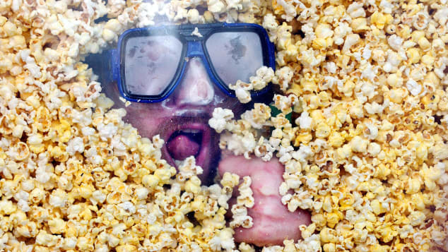 Taking a love of popcorn to a new level.