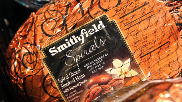 Legend has it that the first sale of Smithfield Ham occured in 1779.