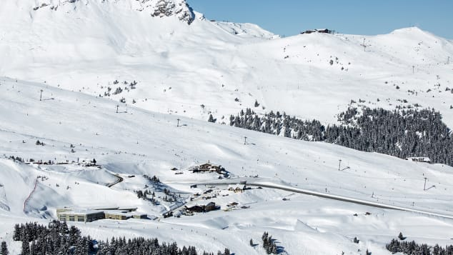 Hit the slopes at Courchevel.