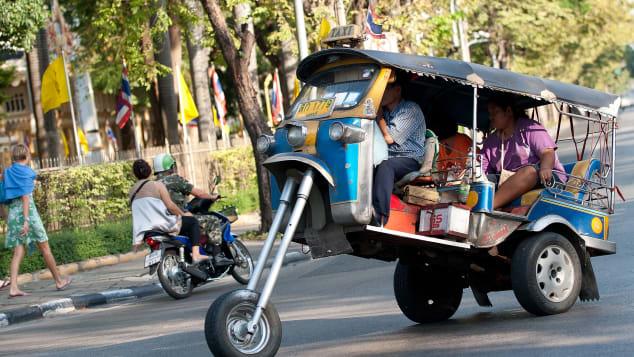 Le moyen le moins cher de prendre l'avion à Bangkok.