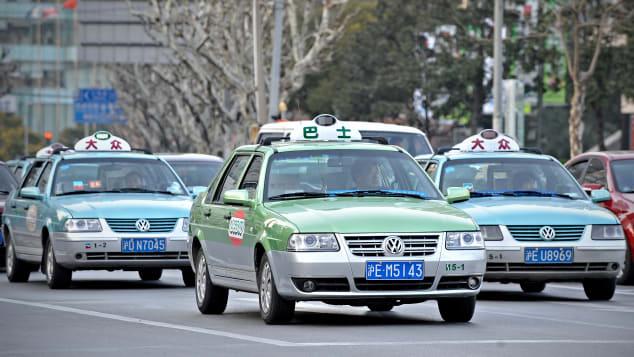 Avec les taxis de Shanghai, vous devez vous essuyer les pieds... après votre sortie.